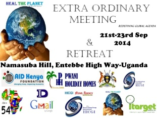 HTP Extra Ordinary Meeting in Namasuba Hill 2014