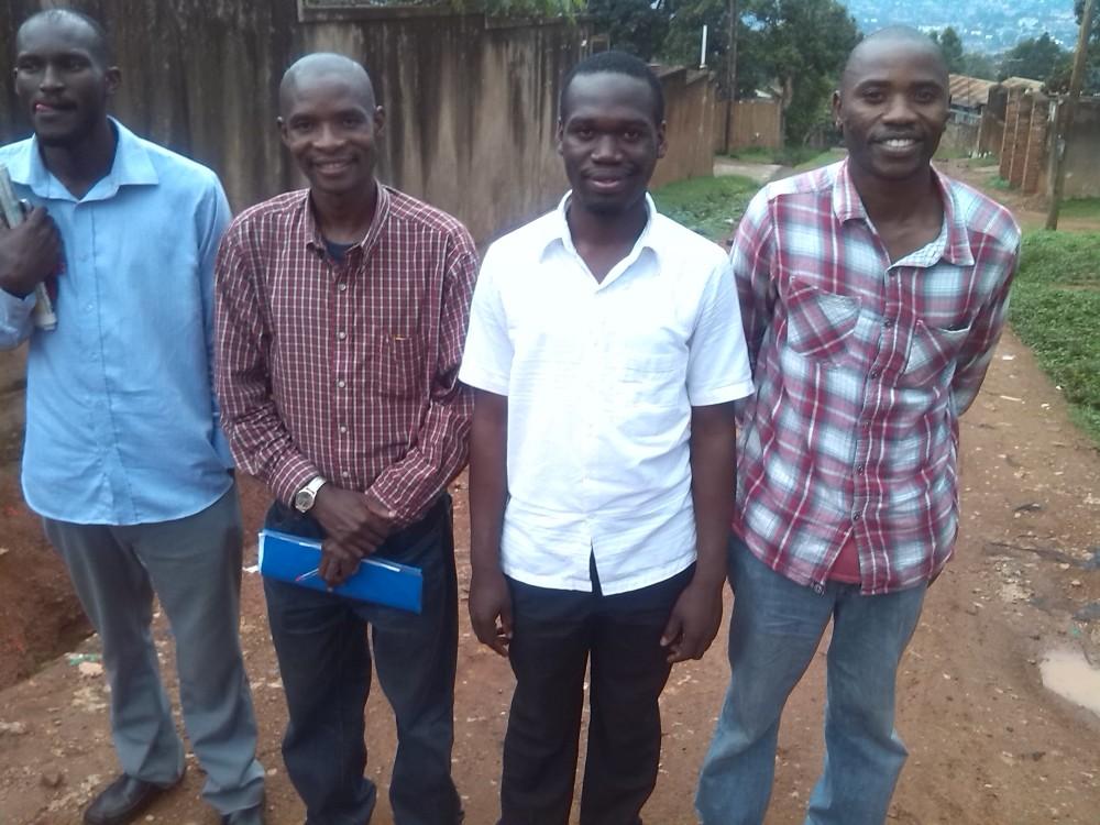 HTP Membeers Edigar Ongera, Kivumbi Earnest Benjamin,Armstrong  Ongera, Allan Kitonsa1