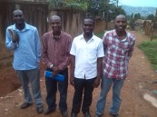 HTP Members Edigar Ongera, Kivumbi Earnest Benjamin,Armstrong Ongera, Allan Kitonsa