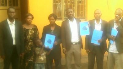 HTP Members Kivumbi Earnest Benjamin, Esther Nasuna Favor, Zipporah Nalubega,Peter Matson Mulindwa,Ongera Edigar & Allan Kitonsa