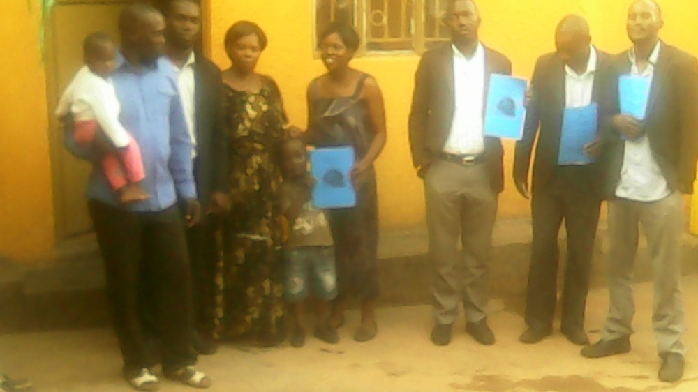 HTP Members Ps Abraham Ssennono Brondon, Kivumbi Earnest Benjamin, Esther Nasuna Favor, Zipporah Nalubega,Peter Matson Mulindwa,Ongera Edigar, Caleb Turyamuhika &Allan Kitonsa in Namasuba4