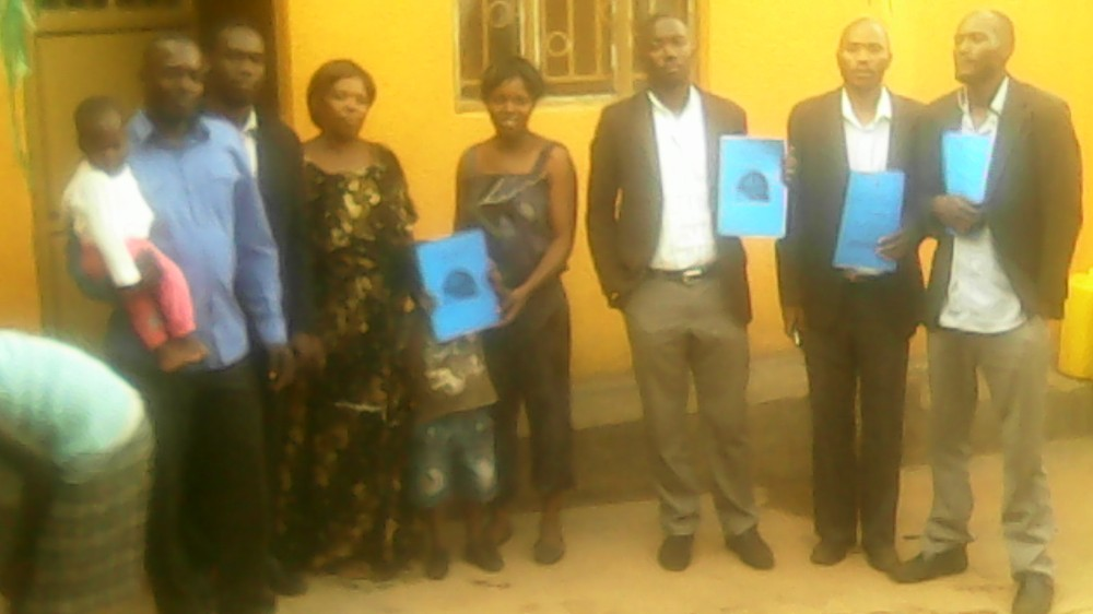 HTP Members Ps Abraham Ssennono Brondon, Kivumbi Earnest Benjamin, Esther Nasuna Favor, Zipporah Nalubega,Peter Matson Mulindwa,Ongera Edigar, Caleb Turyamuhika &Allan Kitonsa in Namasuba2