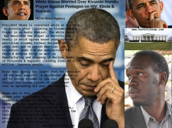 White House Worried about Kivumbi Prayer against white house
