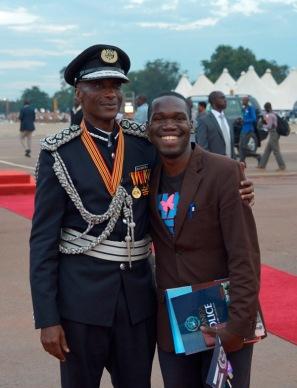 IGP Gen Kale Kaihura with Kivumbi Earnest Benjamin1