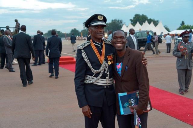 IGP Gen Kale Kaihura with Kivumbi Earnest Benjamin2