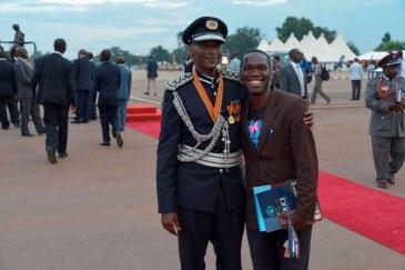 IGP Gen Kale Kaihura with Kivumbi Earnest Benjamin4