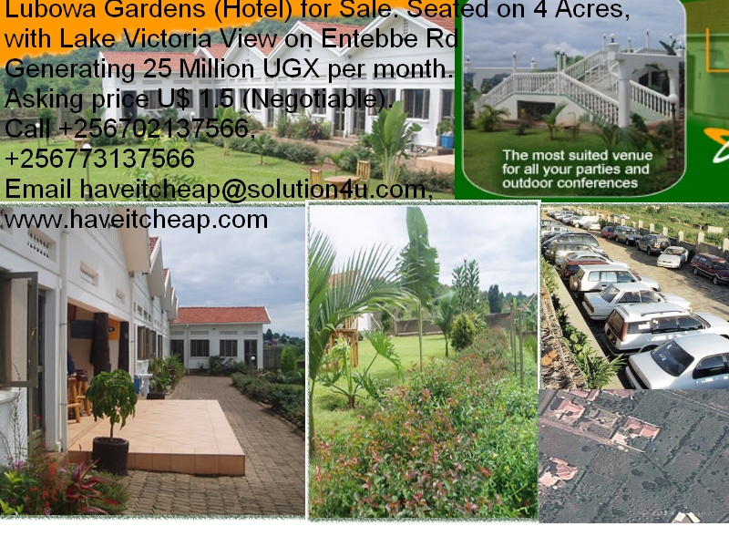 Lubowa Gardens on Sale for HICGI