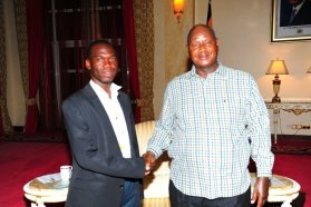 President YK M7 with Kivumbi