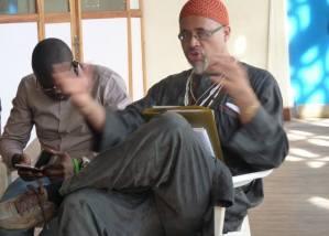 Baba Bantu adressing a seminar