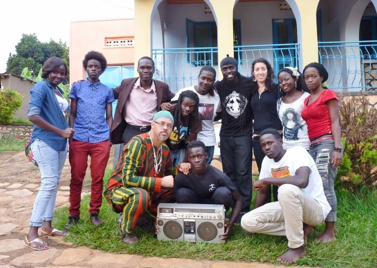 Babantu, Kivumbi Earnest Benjamin n Ugandan artists.JPG