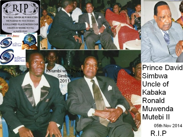RIP Prince David Simbwa-By Kivumbi Earnest Benjamin