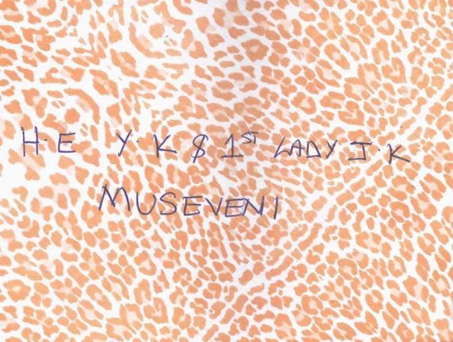 Kivumbi wedding invitation to Museveni