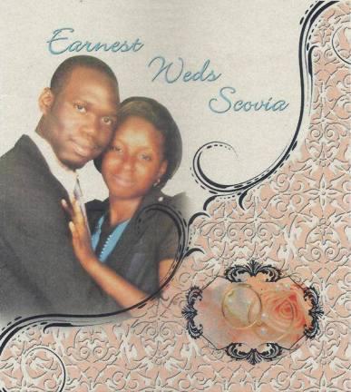 kivumbi wedding invitation