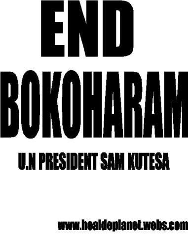 End Boko harm-Kivumbi to U.N