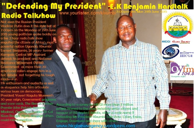 Defeninding the President Museveni-Kivumbi Hardtalk Radio Talkshow on 104.5 Joy fm