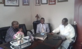 Dr. Joseph Sserwada recieves Prophet Felix Omondi & Kivumbi Earnest Benjamin (8)