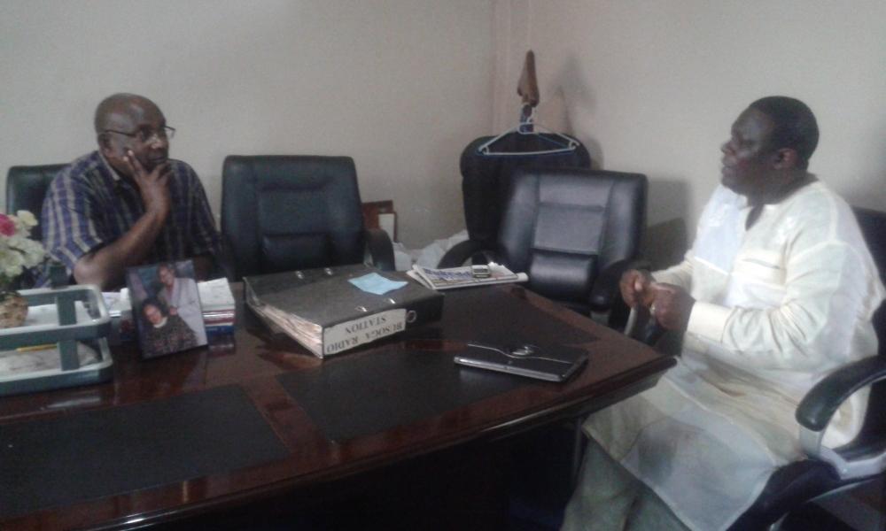 Dr. Joseph Sserwada recieves Prophet Felix Omondi & Kivumbi Earnest Benjamin