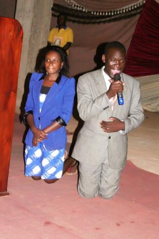 Hon Kivumbi Earnest Benjamin & Princess Scovia Kivumbi