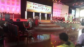 Kivumbi Eanest Benjamin wih Prophet Felix Omondi at Ps Imleda Numutebi Liberty Worship Centre (1)