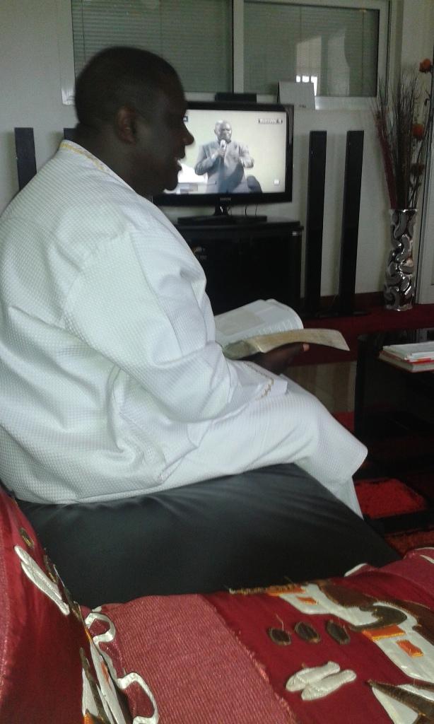 Kivumbi Eanest Benjamin wih Prophet Felix Omondi at Ps Imleda Numutebi Liberty Worship Centre (10)