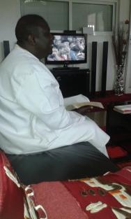 Kivumbi Eanest Benjamin wih Prophet Felix Omondi at Ps Imleda Numutebi Liberty Worship Centre (11)