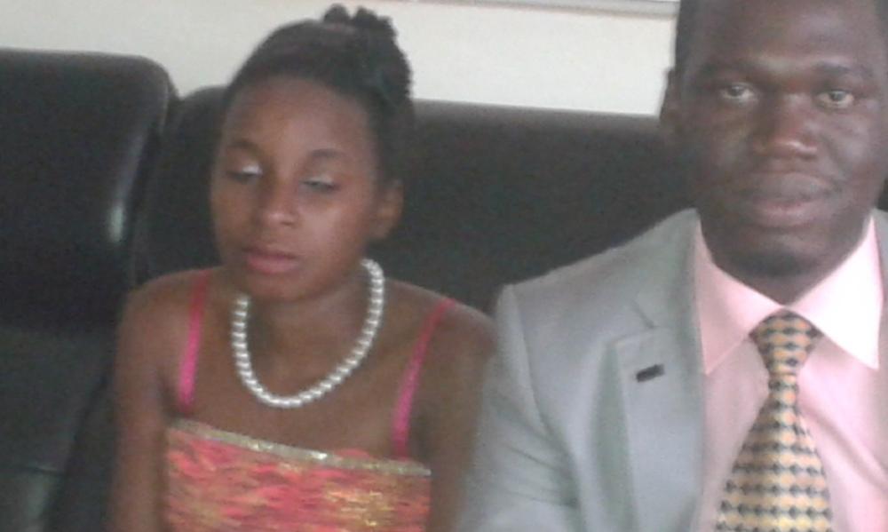 Kivumbi Eanest Benjamin wih Prophet Felix Omondi at Ps Imleda Numutebi Liberty Worship Centre (19)