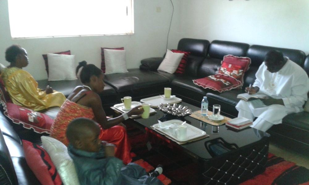 Kivumbi Eanest Benjamin wih Prophet Felix Omondi at Ps Imleda Numutebi Liberty Worship Centre (20)
