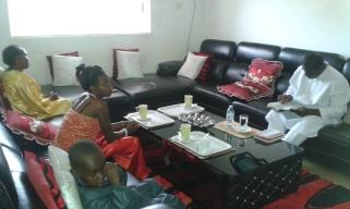 Kivumbi Eanest Benjamin wih Prophet Felix Omondi at Ps Imleda Numutebi Liberty Worship Centre (21)