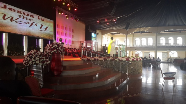 Kivumbi Eanest Benjamin wih Prophet Felix Omondi at Ps Imleda Numutebi Liberty Worship Centre (35)