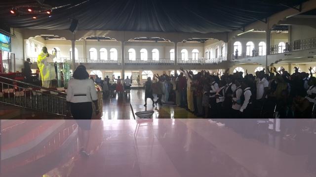 Kivumbi Eanest Benjamin wih Prophet Felix Omondi at Ps Imleda Numutebi Liberty Worship Centre (37)