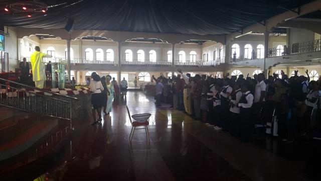Kivumbi Eanest Benjamin wih Prophet Felix Omondi at Ps Imleda Numutebi Liberty Worship Centre (39)