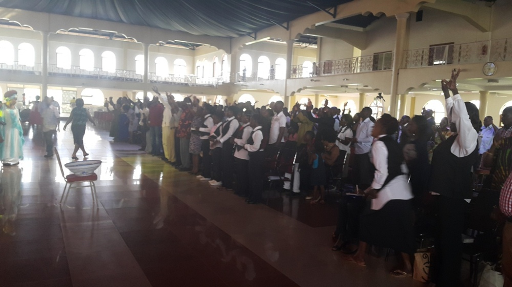 Kivumbi Eanest Benjamin wih Prophet Felix Omondi at Ps Imleda Numutebi Liberty Worship Centre (40)