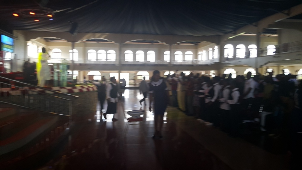 Kivumbi Eanest Benjamin wih Prophet Felix Omondi at Ps Imleda Numutebi Liberty Worship Centre (44)