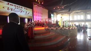 Kivumbi Eanest Benjamin wih Prophet Felix Omondi at Ps Imleda Numutebi Liberty Worship Centre (46)