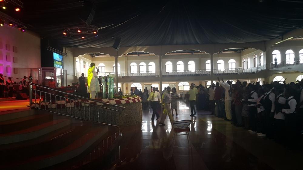 Kivumbi Eanest Benjamin wih Prophet Felix Omondi at Ps Imleda Numutebi Liberty Worship Centre (47)
