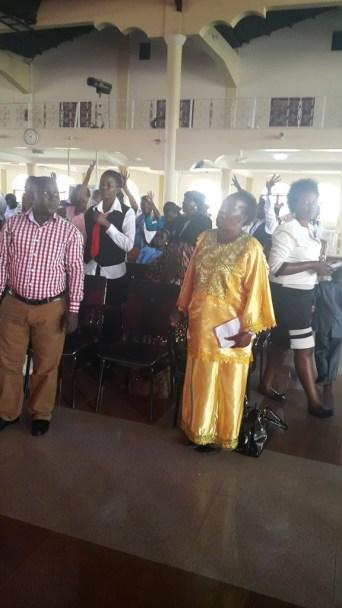 Kivumbi Eanest Benjamin wih Prophet Felix Omondi at Ps Imleda Numutebi Liberty Worship Centre (48)
