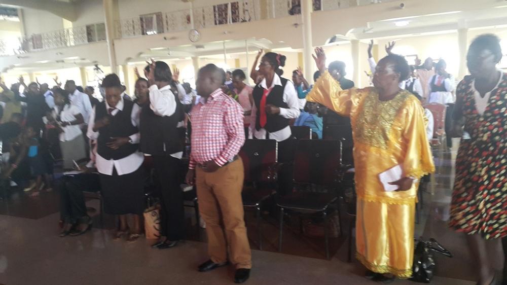 Kivumbi Eanest Benjamin wih Prophet Felix Omondi at Ps Imleda Numutebi Liberty Worship Centre (49)