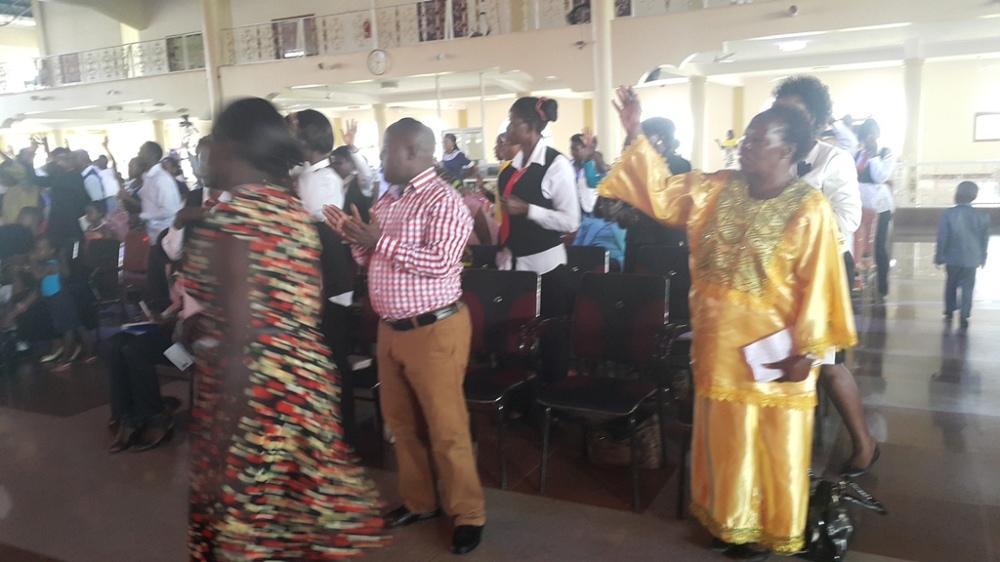 Kivumbi Eanest Benjamin wih Prophet Felix Omondi at Ps Imleda Numutebi Liberty Worship Centre (50)
