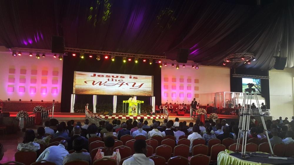 Kivumbi Eanest Benjamin wih Prophet Felix Omondi at Ps Imleda Numutebi Liberty Worship Centre (57)