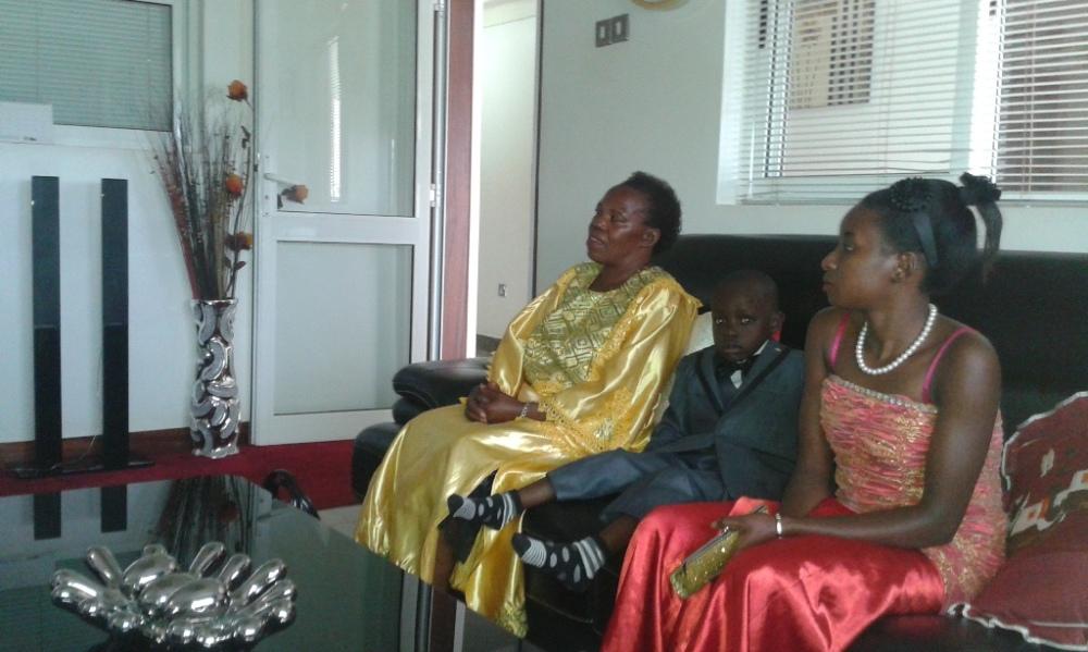 Kivumbi Eanest Benjamin wih Prophet Felix Omondi at Ps Imleda Numutebi Liberty Worship Centre (6)