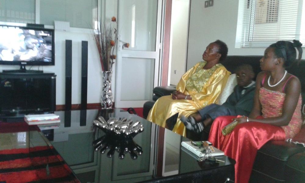Kivumbi Eanest Benjamin wih Prophet Felix Omondi at Ps Imleda Numutebi Liberty Worship Centre (7)