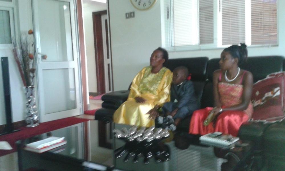 Kivumbi Eanest Benjamin wih Prophet Felix Omondi at Ps Imleda Numutebi Liberty Worship Centre (8)