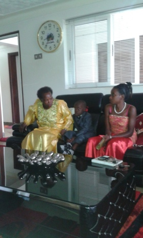 Kivumbi Eanest Benjamin wih Prophet Felix Omondi at Ps Imleda Numutebi Liberty Worship Centre (9)