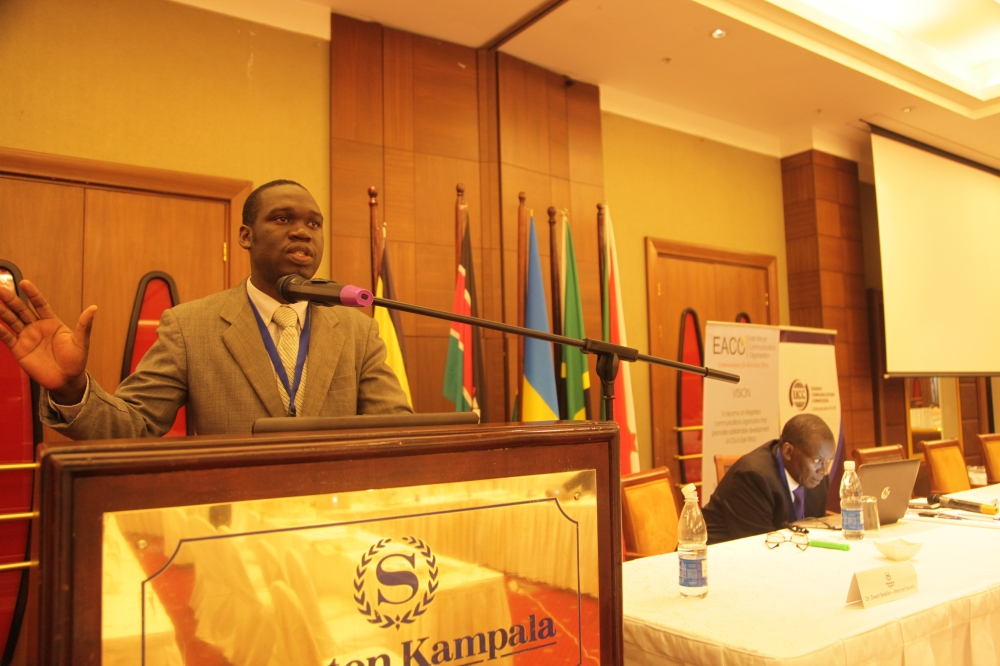 Kivumbi Earnest Benjamin & Princess Scovia at EACO Congress 2015 Sheraton Hotel Kampala (10)