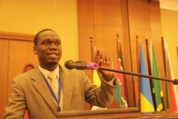Kivumbi Earnest Benjamin & Princess Scovia at EACO Congress 2015 Sheraton Hotel Kampala (12)