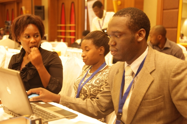 Kivumbi Earnest Benjamin & Princess Scovia at EACO Congress 2015 Sheraton Hotel Kampala (14)