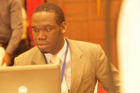 Kivumbi Earnest Benjamin & Princess Scovia at EACO Congress 2015 Sheraton Hotel Kampala (15)