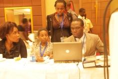 Kivumbi Earnest Benjamin & Princess Scovia at EACO Congress 2015 Sheraton Hotel Kampala (16)