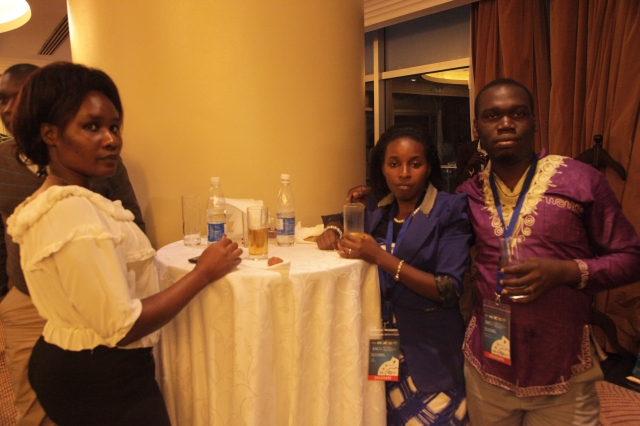 Kivumbi Earnest Benjamin & Princess Scovia at EACO Congress 2015 Sheraton Hotel Kampala (2)