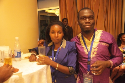 Kivumbi Earnest Benjamin & Princess Scovia at EACO Congress 2015 Sheraton Hotel Kampala (3)